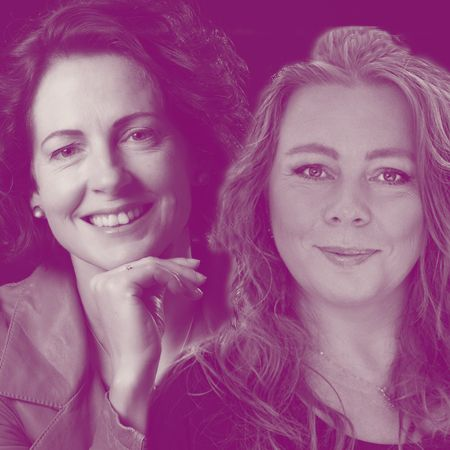 Ingrid Geerts en Ariane van Heiningen