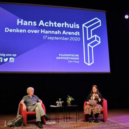 Denken over Hannah Arendt met Hans Achterhuis